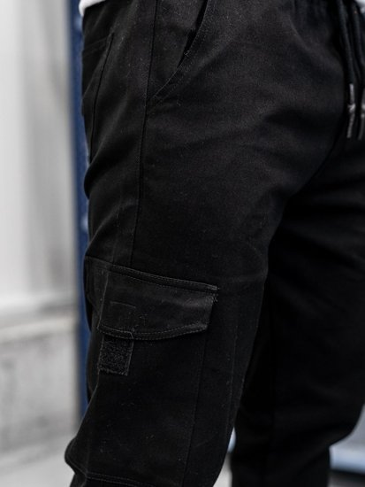 Černé pánské kapsáče Bolf 0857