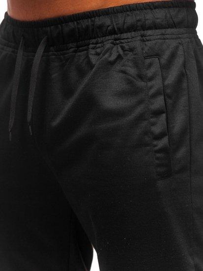 Černé pánské tepláky Bolf HH02