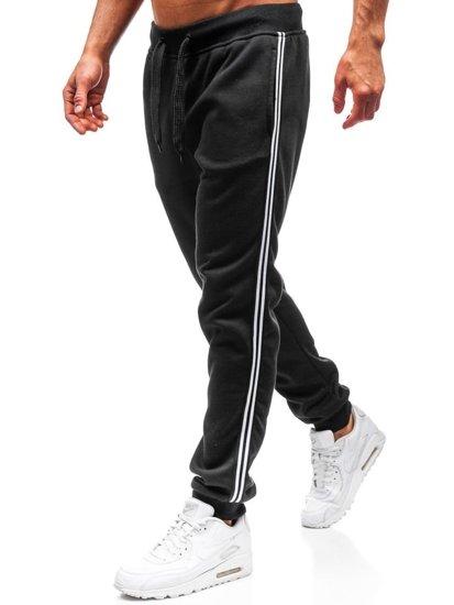 Černé pánské tepláky jogger Bolf KZ06