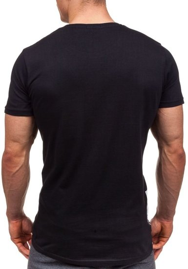 Černé pánské tričko s potiskem Bolf 1945