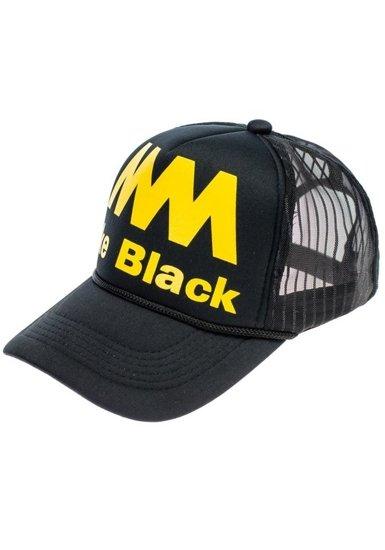 Černo-žlutá kšiltovka Bolf 24
