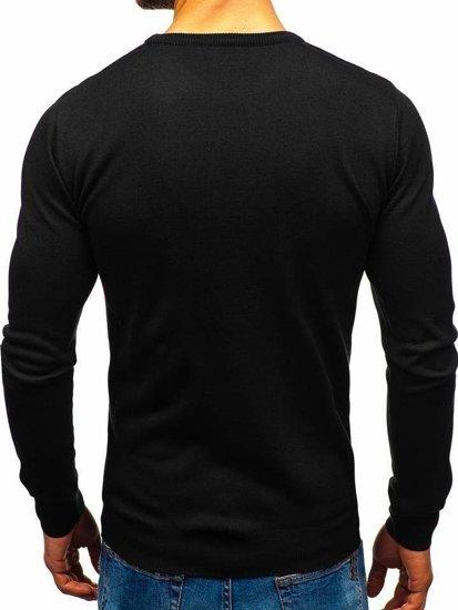 Černý pánský svetr Bolf 2300