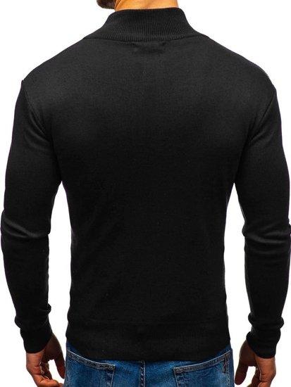 Černý pánský svetr Bolf BM6113