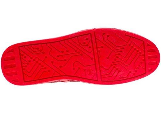 Červená pánská obuv Bolf 701