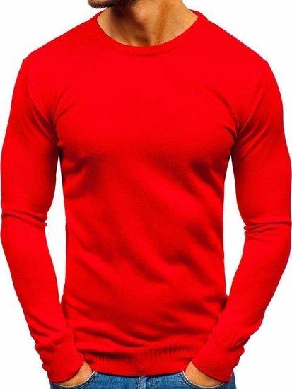 Červený pánský svetr Bolf 2300