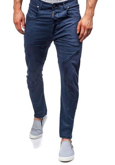 Grafitové pánské textilní kalhoty Bolf 8381
