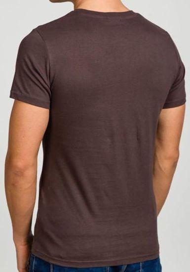 Grafitové pánské tričko s potiskem Bolf 7442