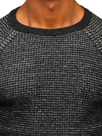 Grafitový pánský svetr Bolf H1932