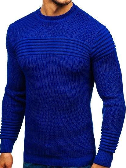 Kobaltový pánský svetr Bolf 6004
