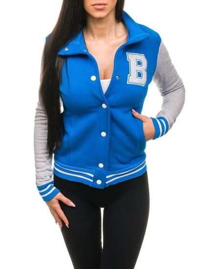 Modrá dámská mikina Bolf 19S