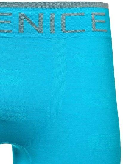 Modré pánské boxerky Bolf PL7723