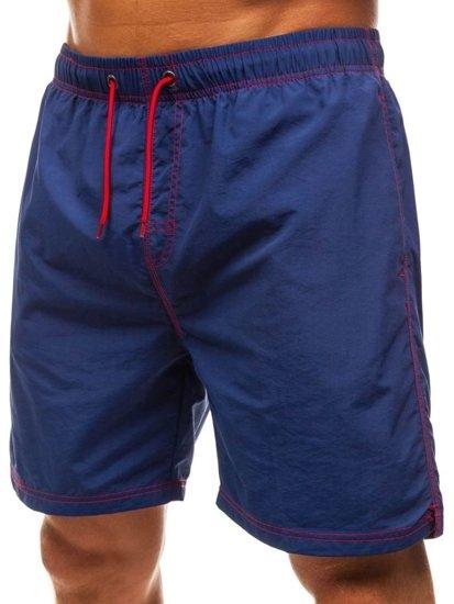 Modré pánské koupací šortky Bolf 82252
