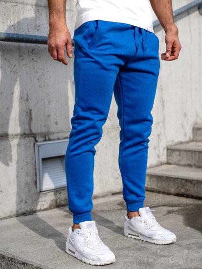 Modré pánské tepláky Bolf CK01