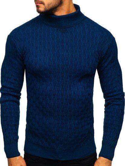 Modrý pánský rolák Bolf 501