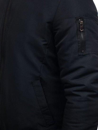 Pánská černá přechodná bunda Bolf AK153