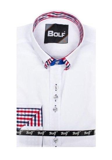 Pánská košile BOLF 0926 bílá