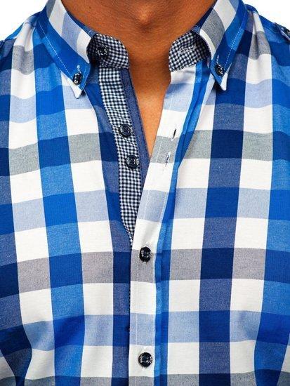 Pánská košile BOLF 2779 modrá