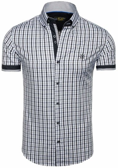 Pánská košile BOLF 4510 černá