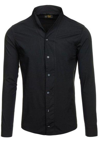 Pánská košile BOLF 5702 černá