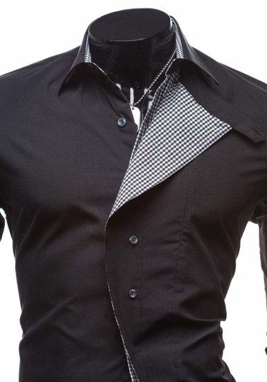 Pánská košile BOLF 5746 černá