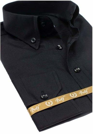 Pánská košile BOLF 5821 černá