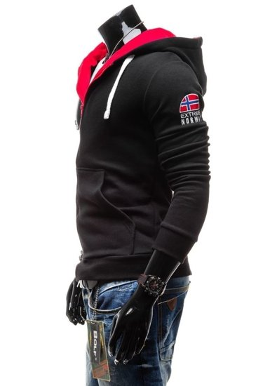 Pánská mikina BOLF 40 černá