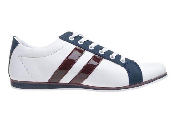 Pánská obuv LUCIO GABBANI 602 bílo-tmavě modré