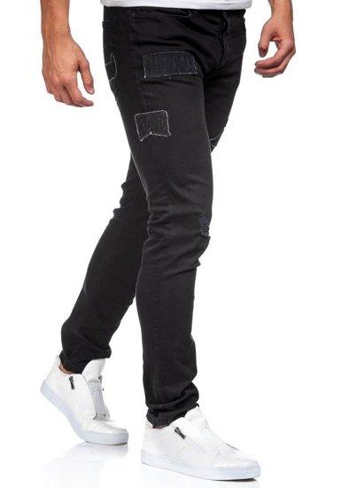 Pánské černé džíny Bolf 396-1