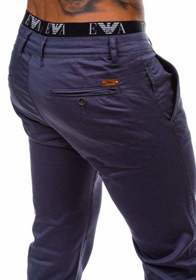 Pánské chino kalhoty JEEL 1557 antracitové
