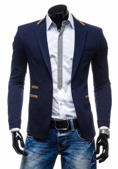 Pánské sako BLACK ROCK 9400 tmavě modré