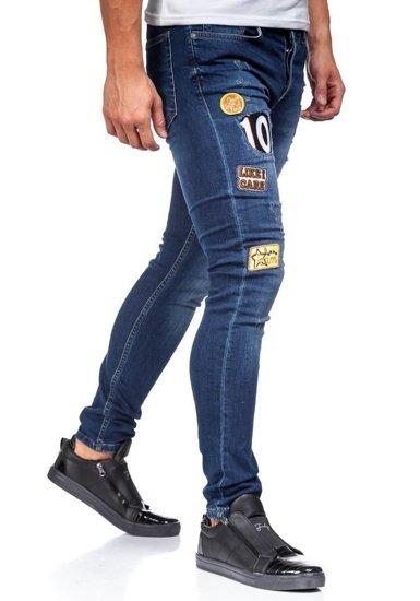 Pánské tmavě modré džíny Bolf 298