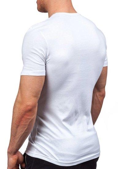 Pánské tričko ATHLETIC 1025 bílé