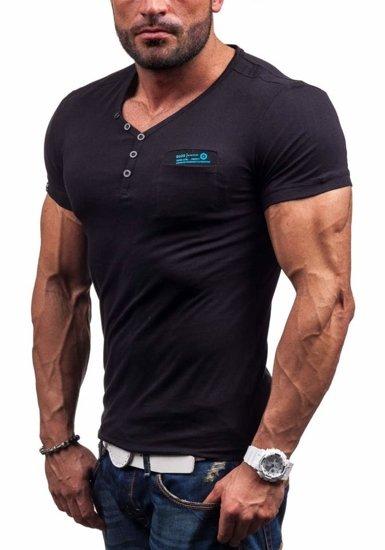 Pánské tričko GLO-STORY 6152 černé