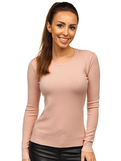 Růžový dámský svetr Bolf AL0205L