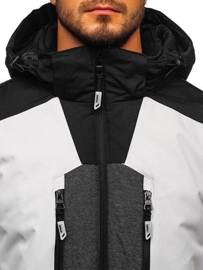 Šedá pánská zimní lyžařská bunda Bolf 1340