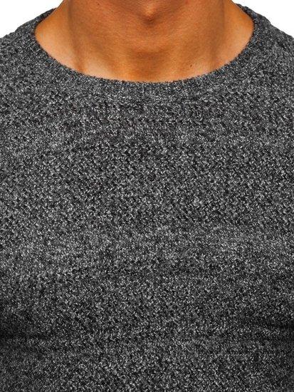 Šedý pánský svetr Bolf H1926