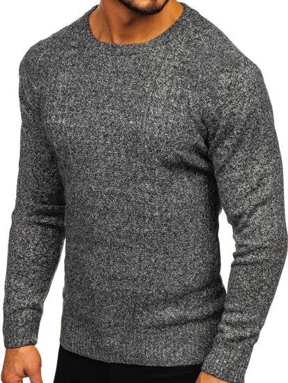 Šedý pánský svetr Bolf H1937