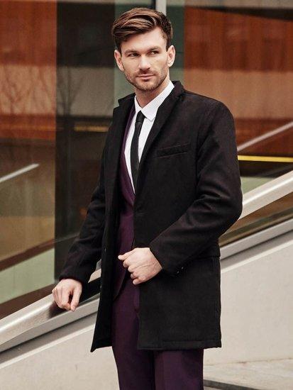 Stylizace č. 383 - kabát, oblek, elegantní košile, kravata