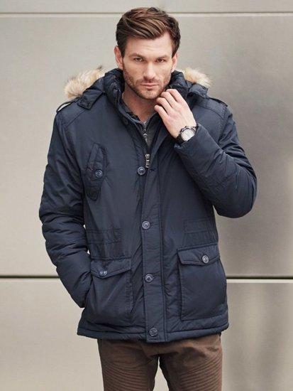 Stylizace č. 406 - hodinky, zimní parka, propínací mikina s kapucí, jogger kalhoty