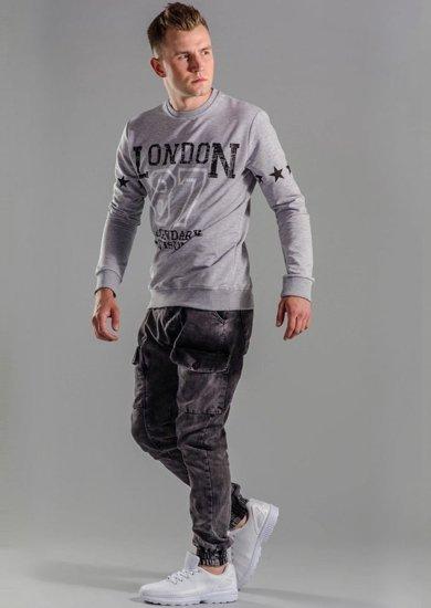 Stylizace č. 51 - mikina, jogger kalhoty, obuv