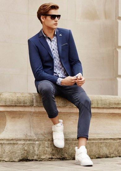 Stylizace č. 64 - sako, košile, kalhoty, obuv