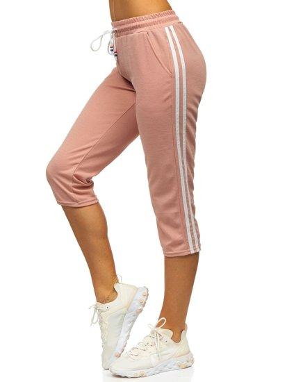 Světle růžové dámské kraťasy Bolf YW01021