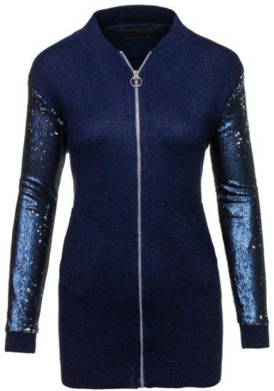 Tmavě modrá dámská přechodná bunda Bolf 1521