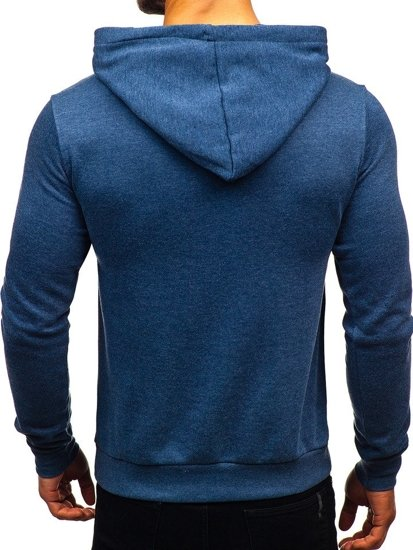 Tmavě modrá pánská mikina Bolf 6216