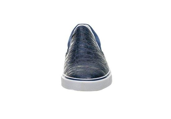 Tmavě modrá pánská obuv slip-on Bolf YDB-8