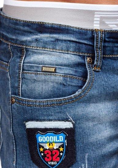Tmavě modré pánské džíny Bolf 1681