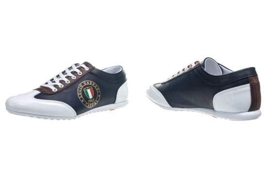 Tmavě modro-vínová pánská obuv Bolf 610-2