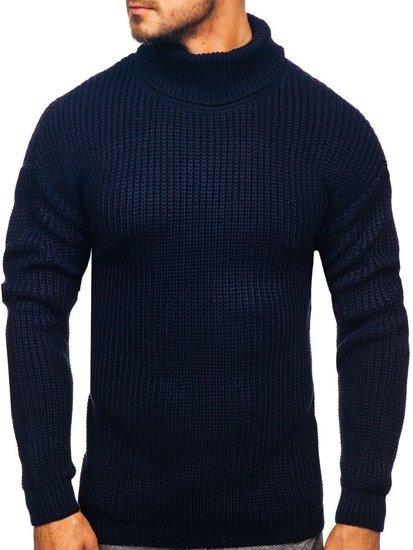 Tmavě modrý pánský rolák Bolf 4368