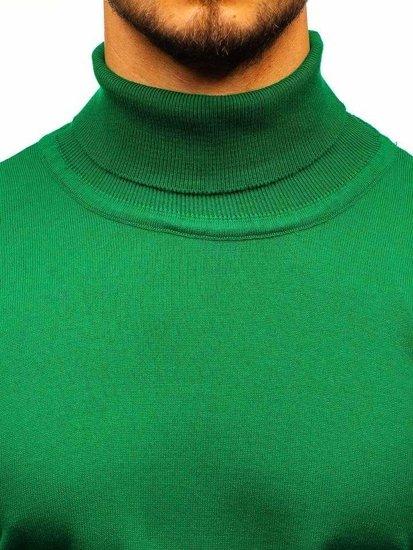 Zelený pánský rolák Bolf 2400