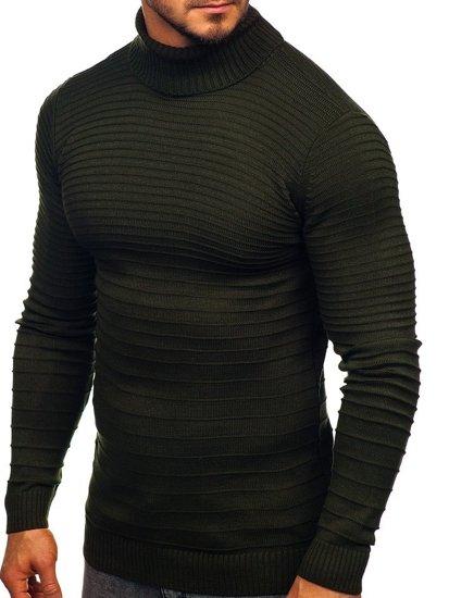 Zelený pánský rolák Bolf 4518